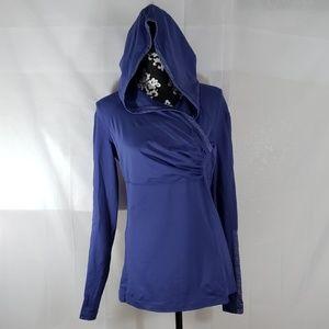 Lululemon athletica pullover yoga jacket size 10